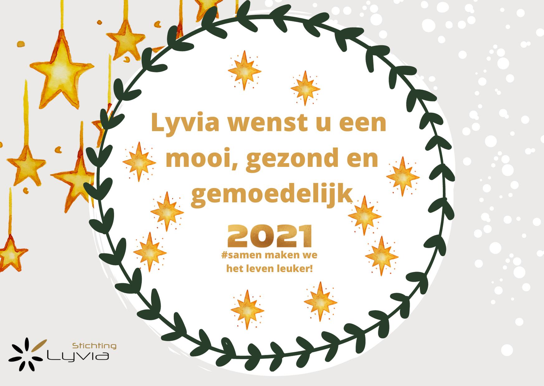 Nieuwjaarskaart Lyvia