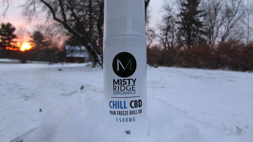 CHILL CBD - 1500mg Freeze Roll On