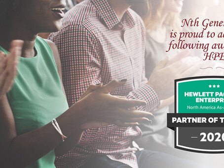 Nth Generation Recognized as HPE North America As-a-Service Partner of the Year