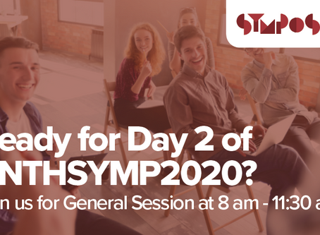 Ready for Day 2 of #NTHSYMP2020? Join us for General Session