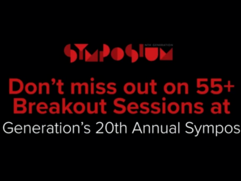 Join us for breakout sessions starting at 1:00 pm today!