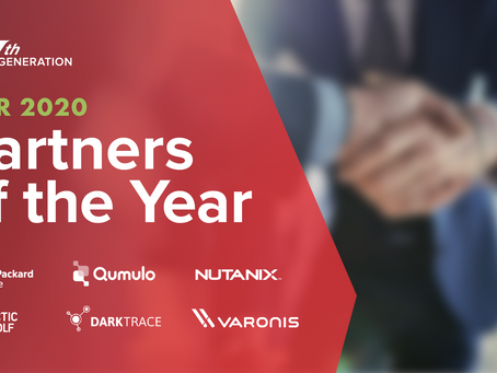 Nth Generation is Excited to Announce Our 2020 Partner Technology Awards!