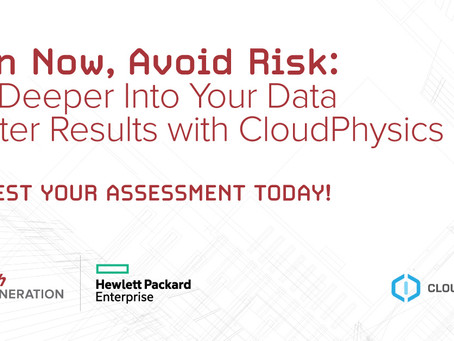 Plan Now, Avoid Risk: Dig Deeper Into Your Data Center Results with CloudPhysics