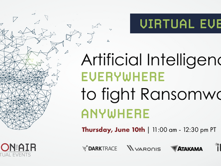 Event: AI Everywhere to Fight Ransomware Anywhere