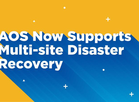 Nutanix DR Multi Site Recovery
