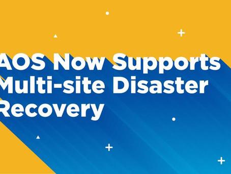 Nutanix DR Multi Site Recovery
