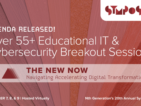 Experience the NEW NOW at Nth Generation's 20th Annual Symposium: Featuring 55+ Breakout Sessions