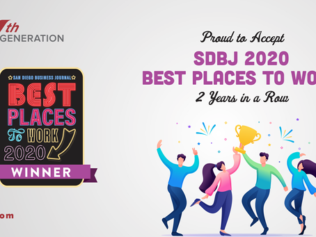 Nth Generation is thrilled to place #5 in Best Places to Work, San Diego!