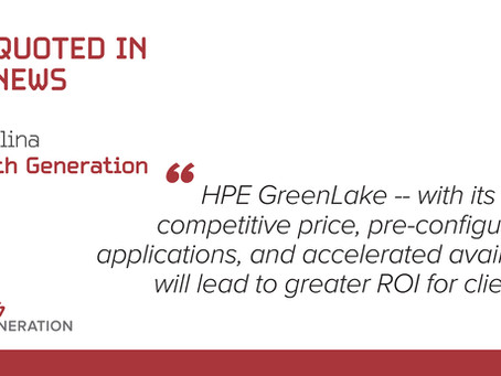HPE GreenLake Blockbuster: New Standardized Building Blocks For Partners To Sell