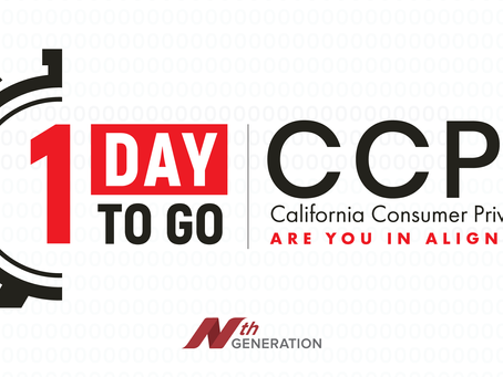 The California Consumer Privacy Act (CCPA) Enforcement Begins Tomorrow, July 1st