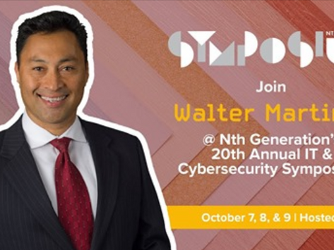 Connect with Walter Martinez, Enterprise Account Manager (SLED) at Nth Generation