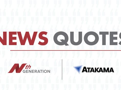 Atakama Signs Strategic Partnership with Nth Generation