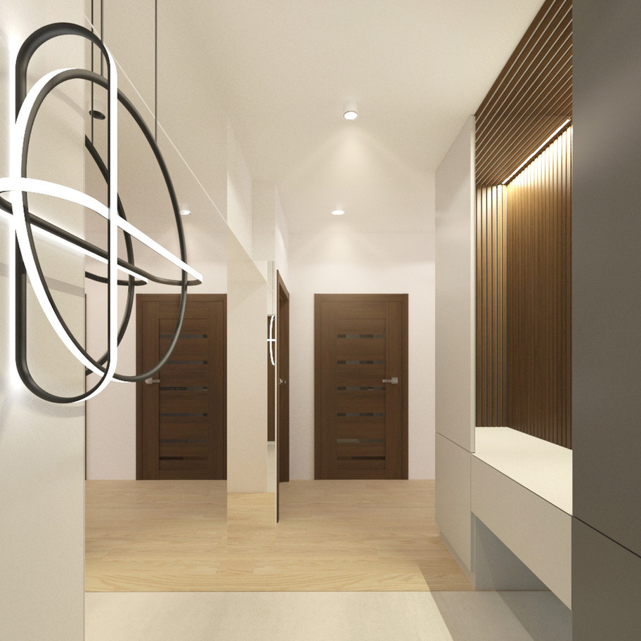 tutka.no-modern hallway white grey corri