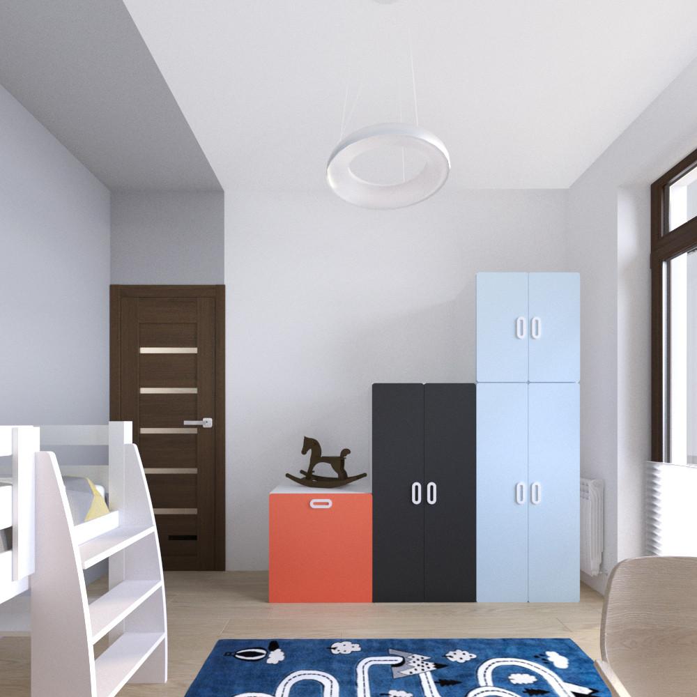 tutka.no-child room blue grey orange (2)