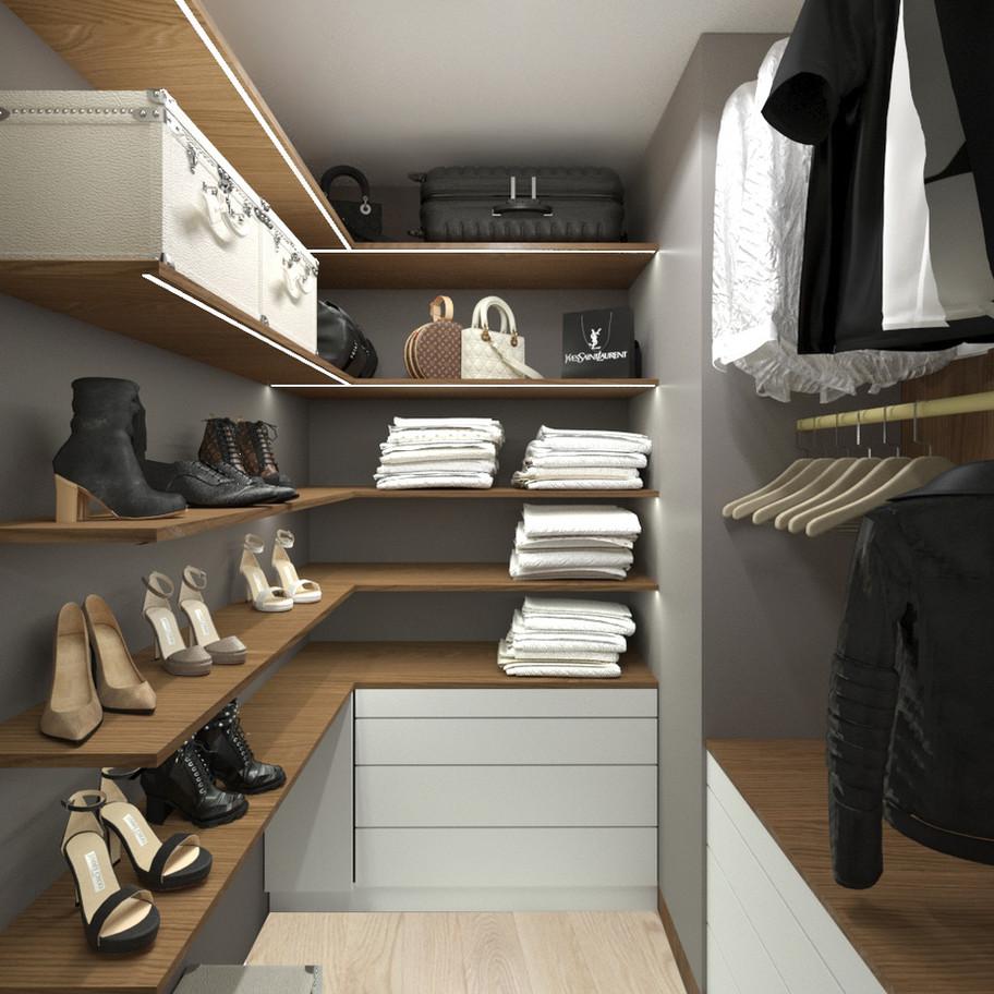 tutka.no-small walk in closet grey white