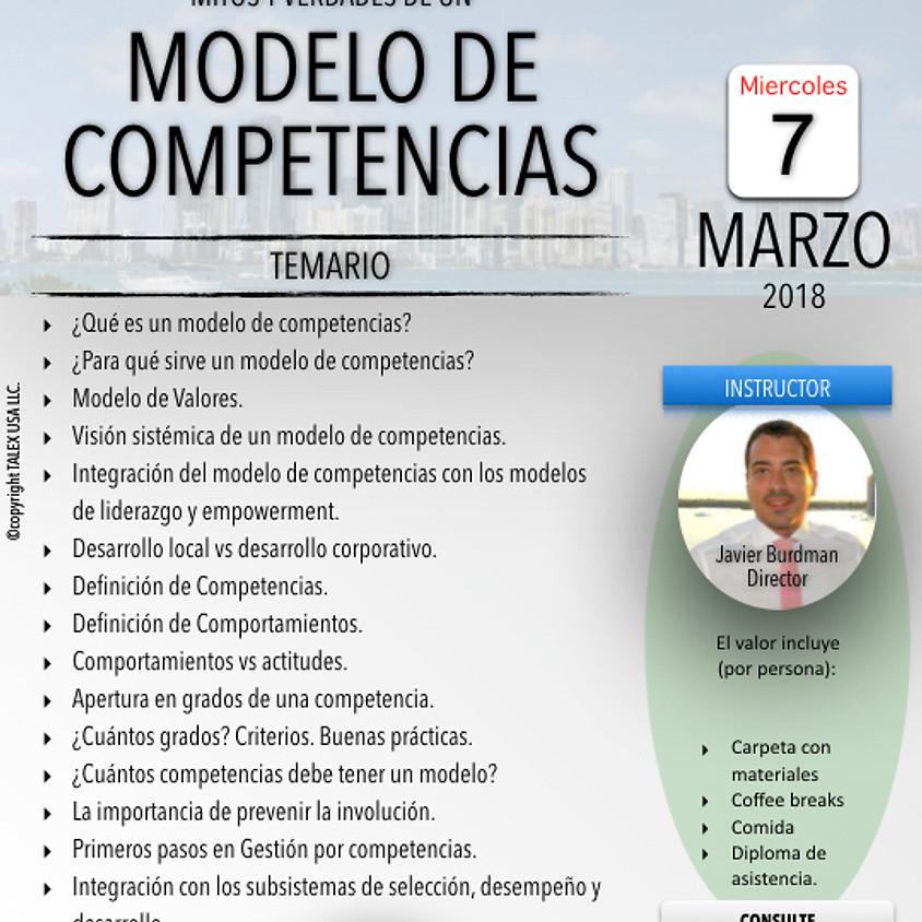 Mitos y Verdades de un Modelo de Competencias