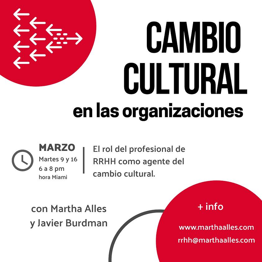 Cambio cultural en las organizaciones