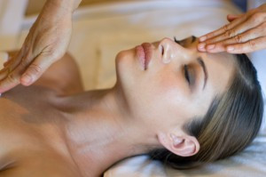 Healing Reiki session for health, relaxation and wellbeing