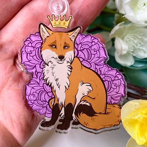 """Royalty Series - Fox"" - Keychain."