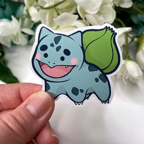 Gen 1 Starter Pokemon Stickers! *Bundles Available*