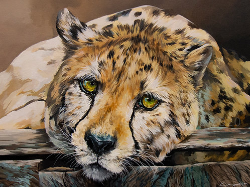 Oliver - Acrylic Painting.