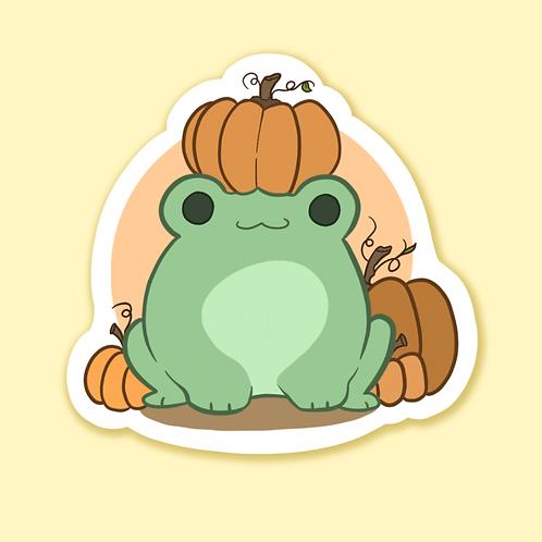 """""""Pumpkin Patch Fall Friends"""" - Sticker."""