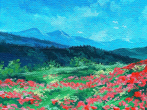 """Poppy Fields"" - Art Print."