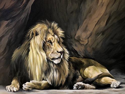 Winston - Acrylic Painting.