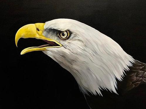 Apollo - Acrylic Painting.