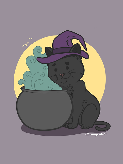 """""""The Cutest Witch"""" - Art Print."""
