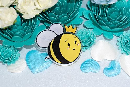 """""""Queen Bee"""" - Acrylic Pin."""