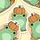 """Thumbnail: """"Pumpkin Patch Fall Friends"""" - Sticker."""