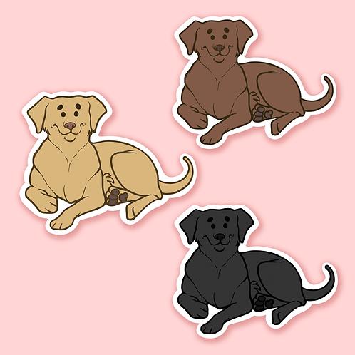 Labrador Retriever - Sticker.