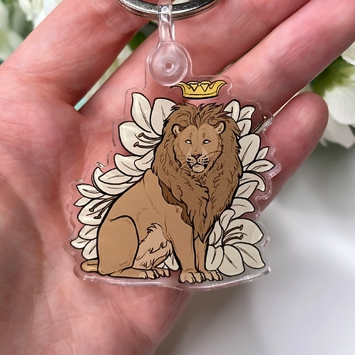 """Royalty Series - Lion"" - Keychain."