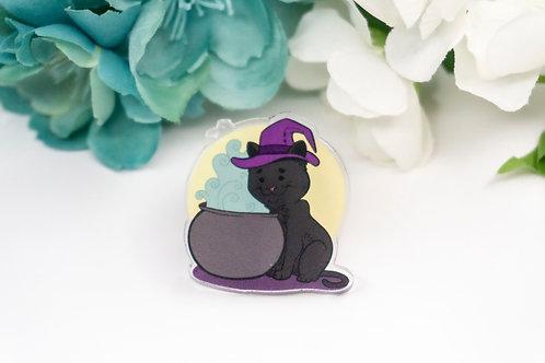 "MISPRINT - ""Cutest Witch"" - Acrylic Pin."