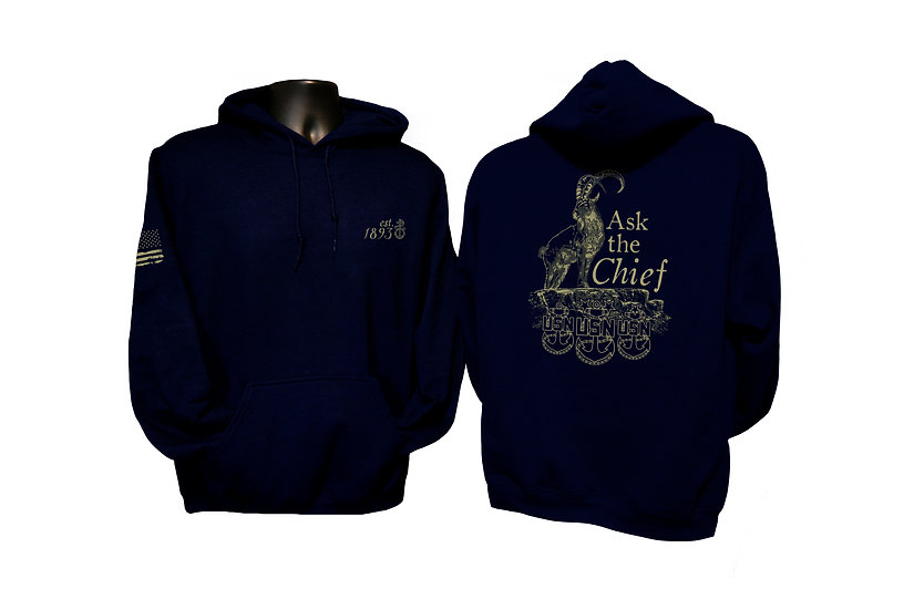 Ask the Chief Hoodie