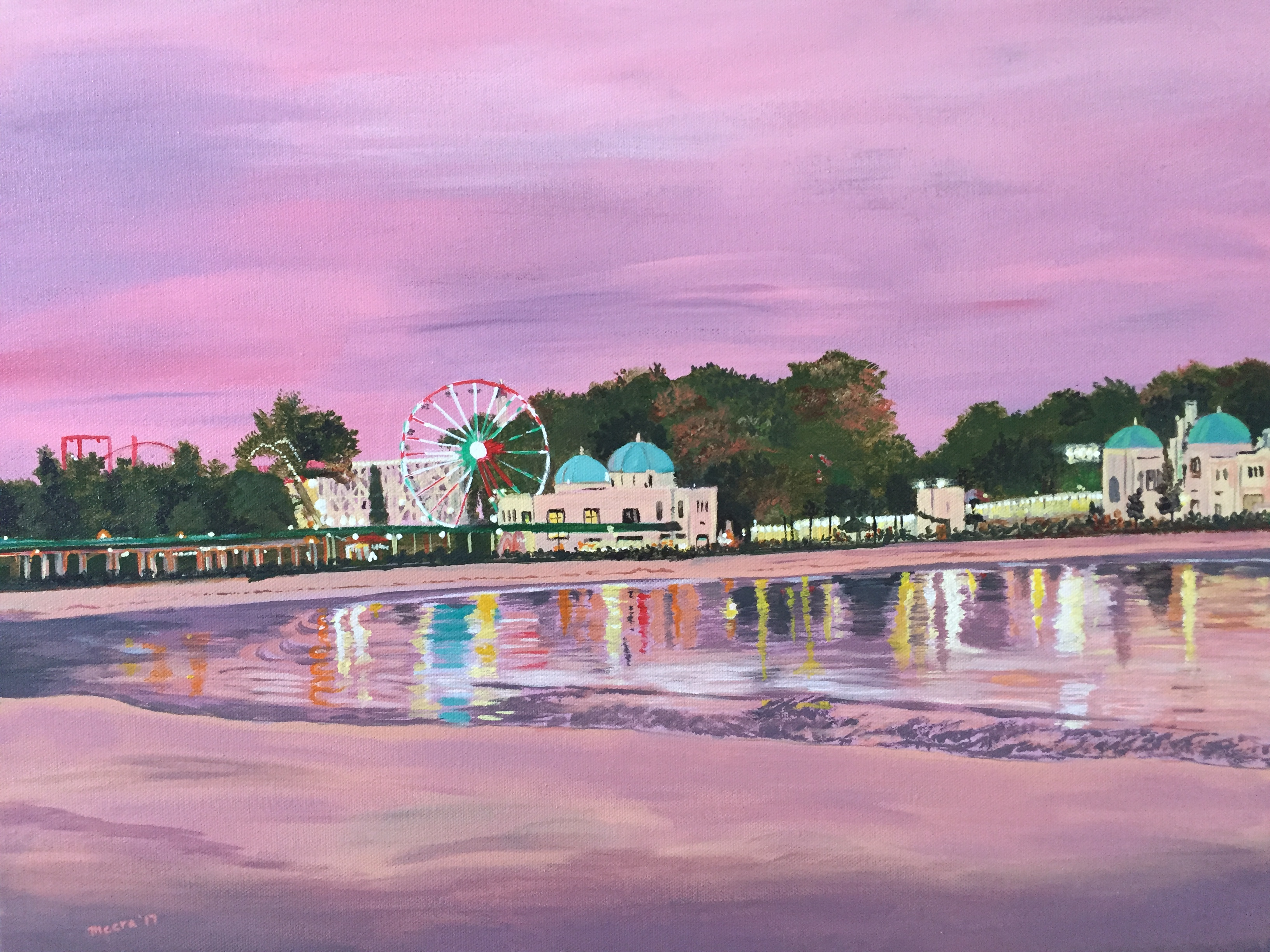 Rye Playland at Dusk