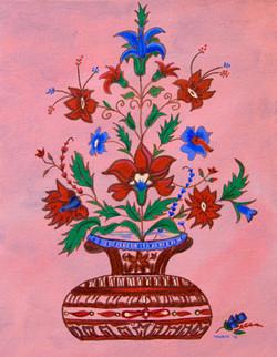 Taj Inlay Flowers