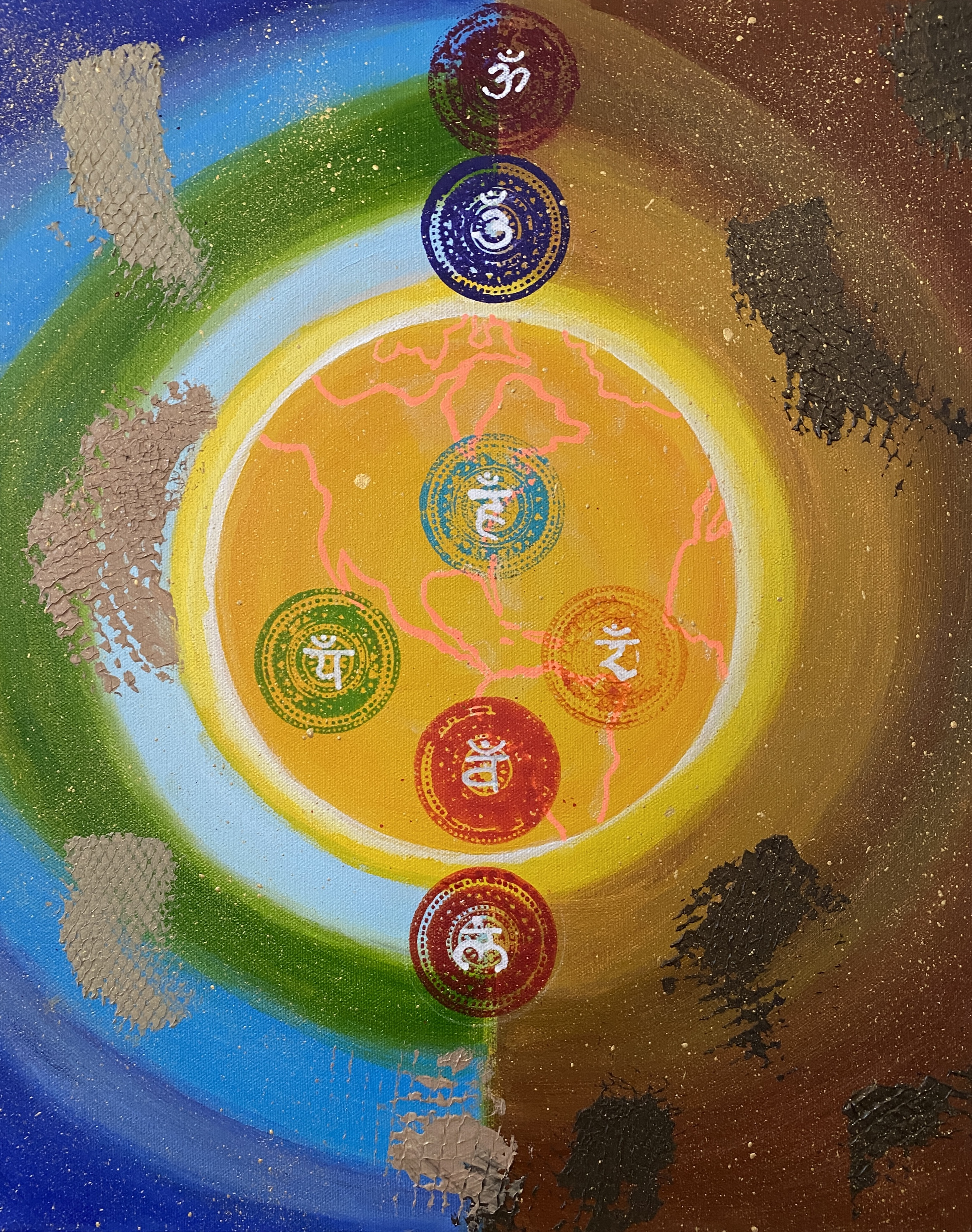 Balance Earth's Chakras (Ripple Series)