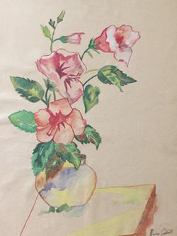 Hibiscus (1st painting)