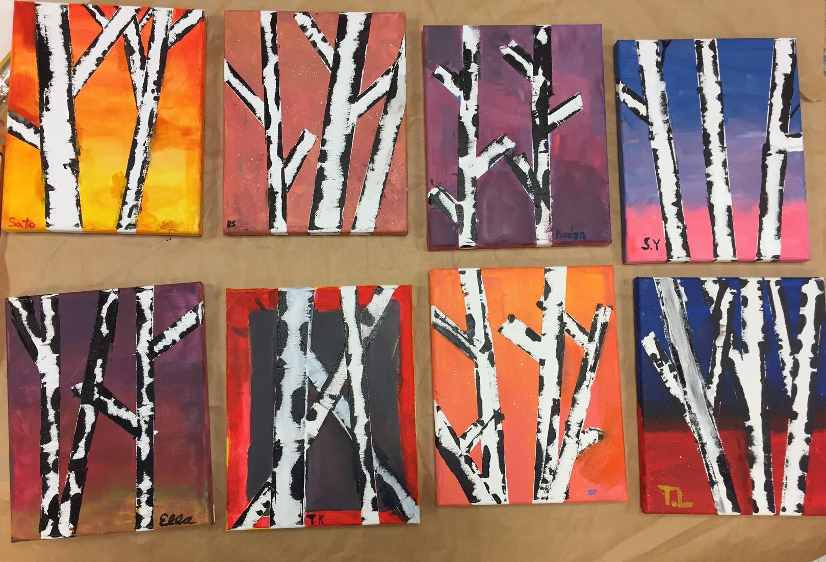 Birch beautiful