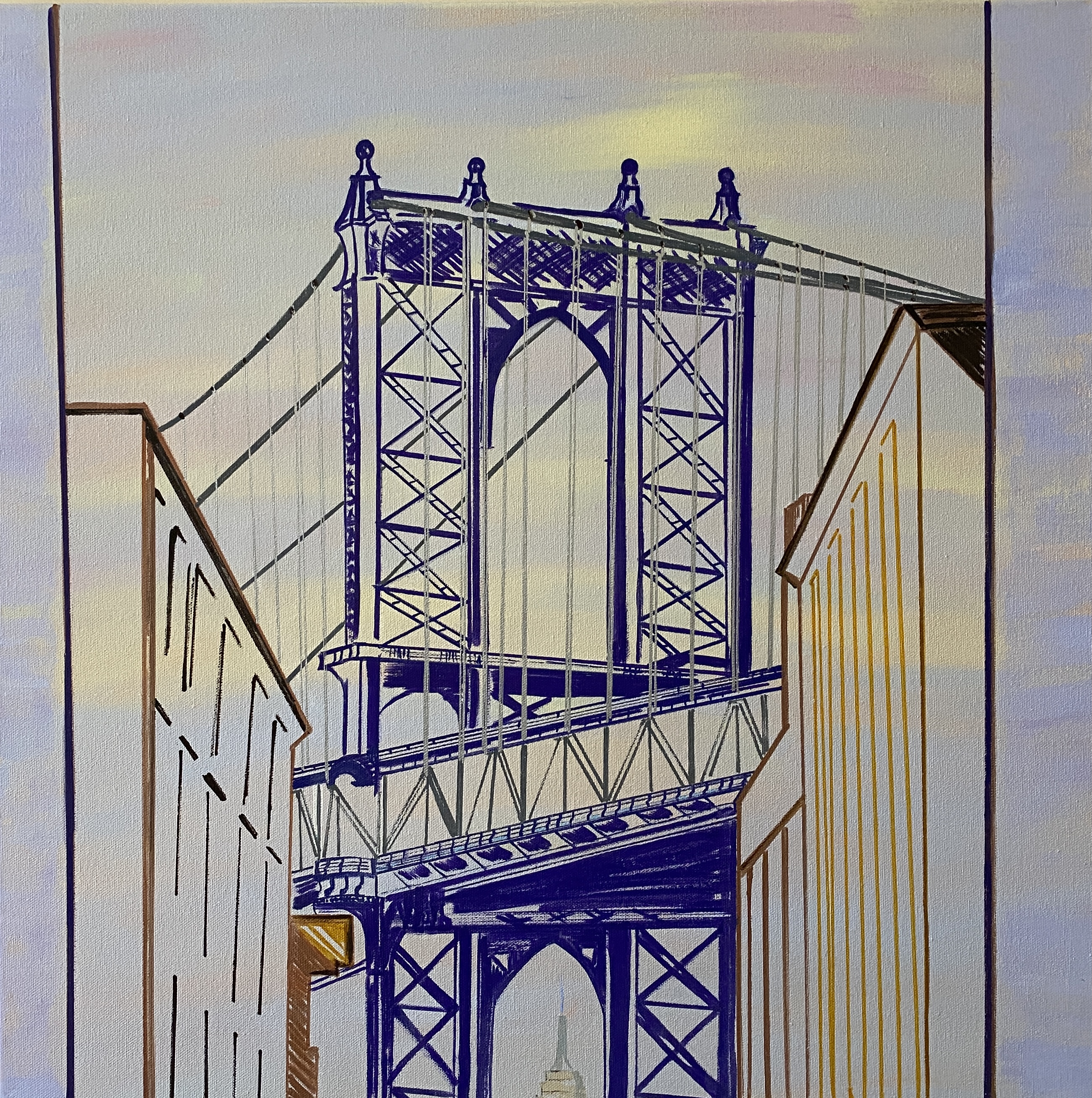 Manhattan Bridge (Build Bridges, Not Walls)