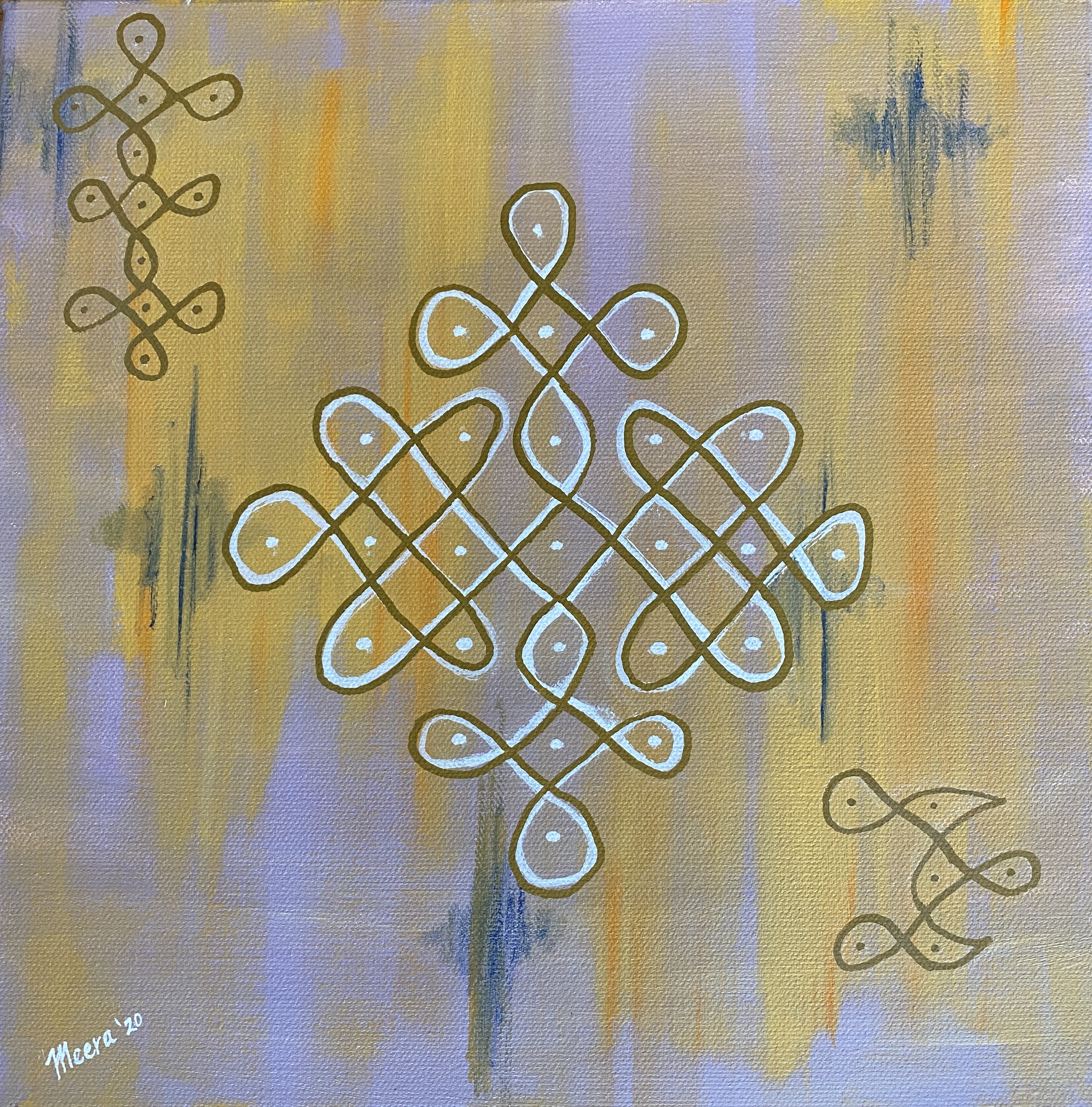 We are all connected (Connections/Kolam Series)