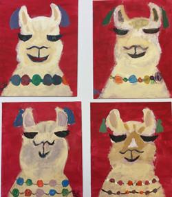 Whimsical Llamas