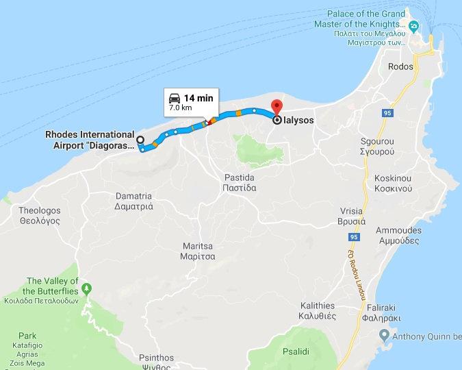 Arrival / Departure Ialyssos