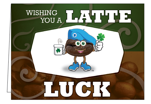 Wholesale - Wishing You A Latte Luck