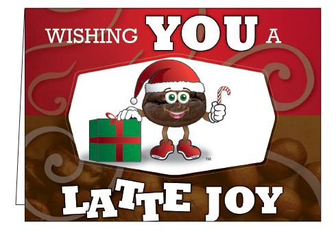 Wholesale -Wishing You A Latte Joy