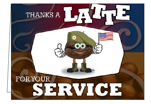 Thanks A Latte For Your Service