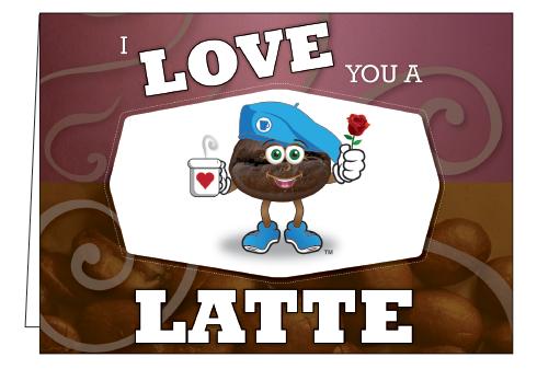 Wholesale I Love You Latte