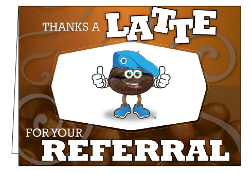 Wholesale - Thanks A Latte For Your Referral